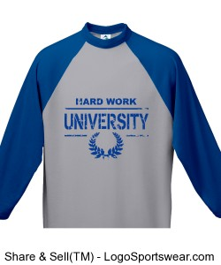 HARD WORK U BLOCK BOY SWEATER Design Zoom