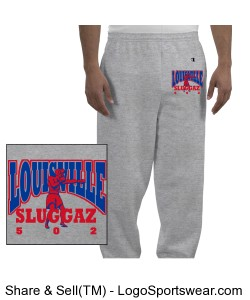 SLUGGAZ FIGHT JOGGERS Design Zoom